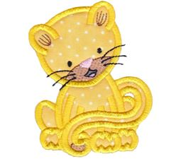 Cute Forest Animals Applique 14