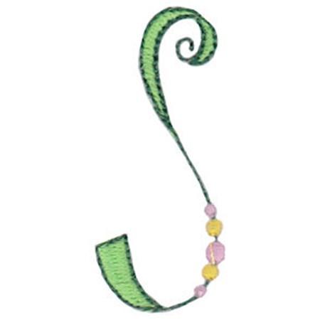Dangles Capitals Alphabet S