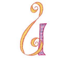 Dangles Capitals Alphabet U