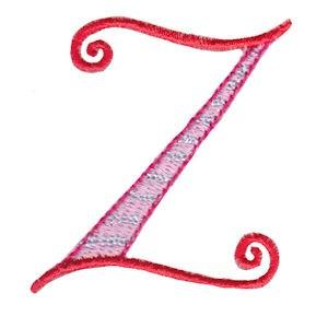 Dangles Capitals Alphabet Z