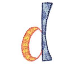 Dangles Lower Case Alphabet d