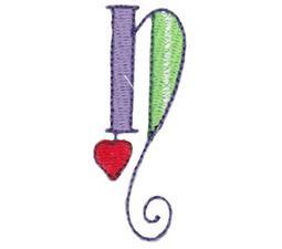 Dangles Lower Case Alphabet n