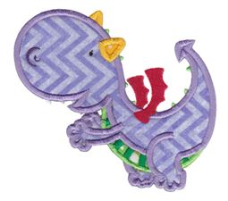 Dashing Dragons Applique 2