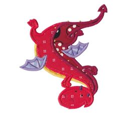 Dashing Dragons Applique 4