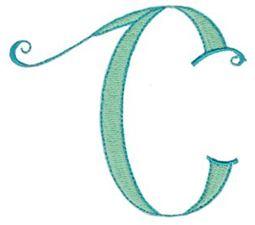 Dominique Alphabet Capital C