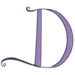 Dominique Alphabet Capital D