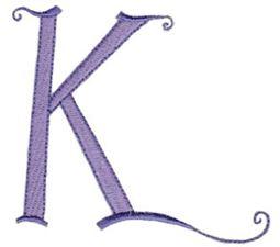 Dominique Alphabet Capital K