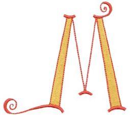 Dominique Alphabet Capital M