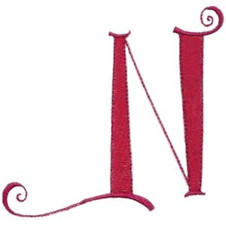 Dominique Alphabet Capital N