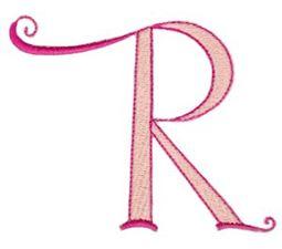 Dominique Alphabet Capital R