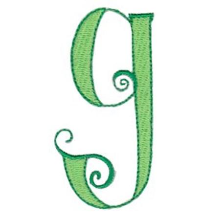 Dominique Alphabet Lower Case g