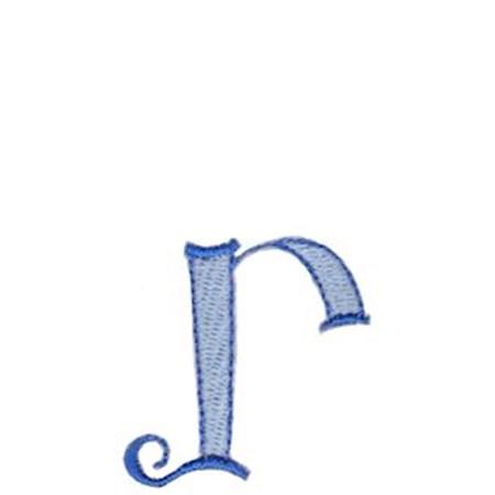 Dominique Alphabet Lower Case r