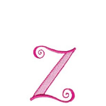 Dominique Alphabet Lower Case z