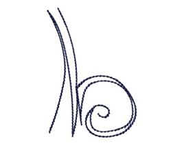 Doodle Alphabet b