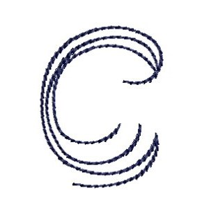 Doodle Alphabet c