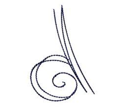 Doodle Alphabet d