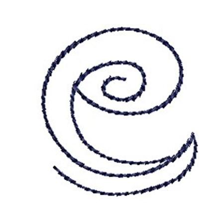 Doodle Alphabet e