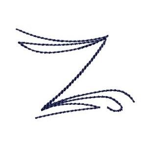 Doodle Alphabet z