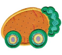 Easter Train Applique 4