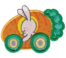 Easter Train Applique 5