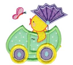 Easter Train Applique 6