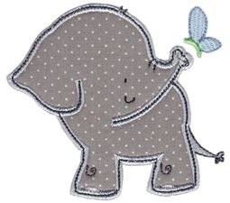 Elephants Applique 11