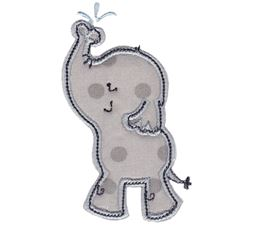 Elephants Applique 12