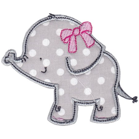 Elephants Applique 14