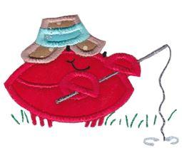 Feeling Crabby Applique 14