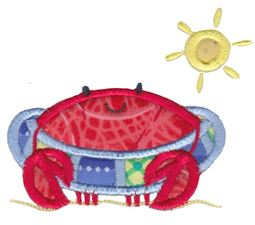 Feeling Crabby Applique 16