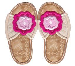 Flip Flops Applique 10