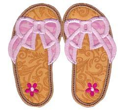 Flip Flops Applique 4