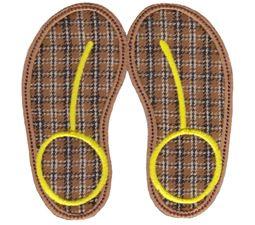 Flip Flops Applique 6