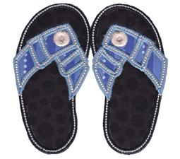 Flip Flops Applique 8