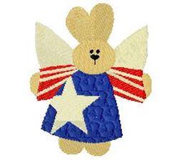 Patriotic Bunny 2