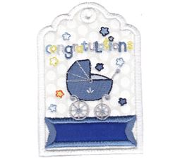 Gift Tags Applique 1