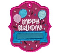 Gift Tags Applique 2