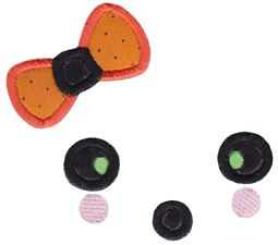 Halloween Faces Applique 2