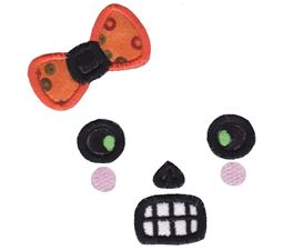 Halloween Faces Applique 3
