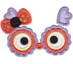 Halloween Faces Applique 4
