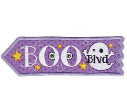 Halloween Signs Applique 10