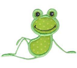 Happy Frog Applique 11