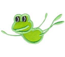 Happy Frog Applique 2