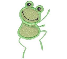 Happy Frog Applique 3