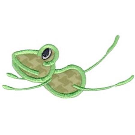 Happy Frog Applique 5