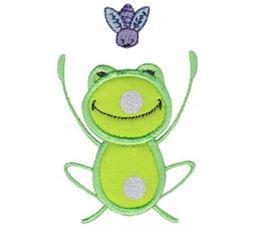 Happy Frog Applique 7