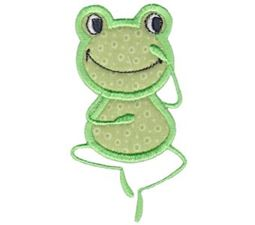 Happy Frog Applique 8