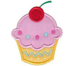Hello Cupcake Applique 1