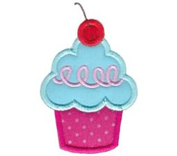 Hello Cupcake Applique 12