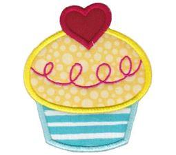 Hello Cupcake Applique 13